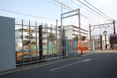 富士見台10号踏切